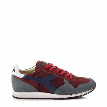 Diadora Heritage Trident Men Red Sneakers