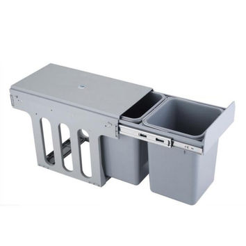 2 x 8L Kitchen Waste and Recycling Bin