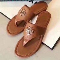 Tory Burch Women Fashion Casual Slipper Shoes-9