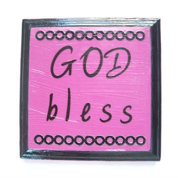 Christian Plaque, Religious Sign, Christian Wood Art, Spiritual Plaque