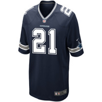 Men's Ezekiel Elliott Navy Blue Limited Jersey - Dallas Cowboys #21