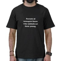Parents Eat Young Tees from Zazzle.com