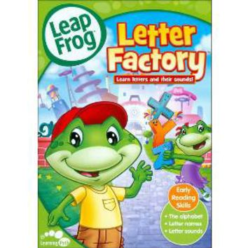 LeapFrog: Letter Factory [With Flash Cards] : Target