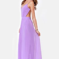 Milay Chiffon Full Length Strap Halter Dress