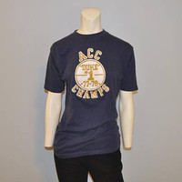 Vintage 1970's Duke ACC Basketball Championship T-Shirt in Excellent Condition 1977-1978 Duke University Blue Devils Tee Shirt Durham Tshirt