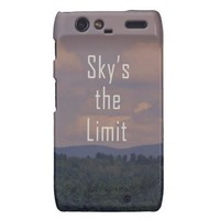Motorola Droid RAZR...Sky's the Limit from Zazzle.com