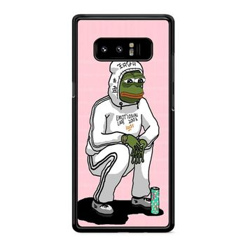 Aesthetic Pepe 1 Samsung Galaxy Note 8 Case