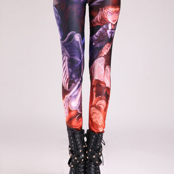 Halloween Night Digital Print Leggings