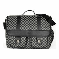 Luxe Check Messenger Pet Carrier