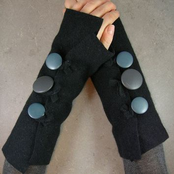 arm warmers arm cuffs fingerless mittens by piabarile on Etsy
