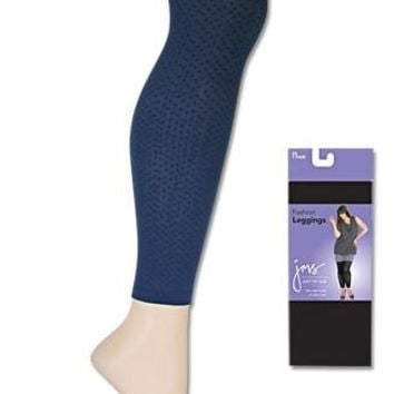 Just My Size Women's Comfort Top Fashion Legging # 89005