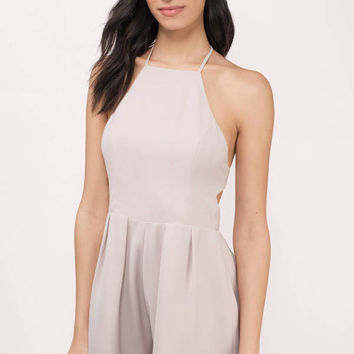 Analee Halter Neck Romper