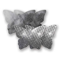 Nippies® Night Fever Dark Silver Butterfly Pasties