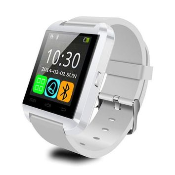 Fashion Smart Watch U8 Bluetooth MTK Digital-watch Sports Wristband for Android&IOS Silicone
