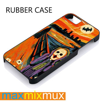 Scream  Joker iPhone 4/4S, 5/5S, 5C, 6/6 Plus Series Rubber Case