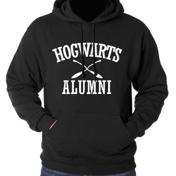 Hogwarts Alumni Hoodie - Harry Potter Black Sweatshirt