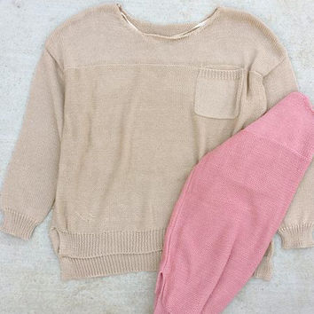 Light Knit Spring Sweater