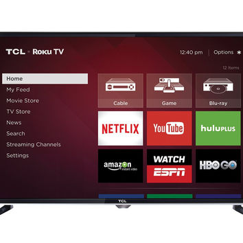 32-Inch 720p Roku Smart LED TV - Black Friday Cyber Monday - Free Shipping
