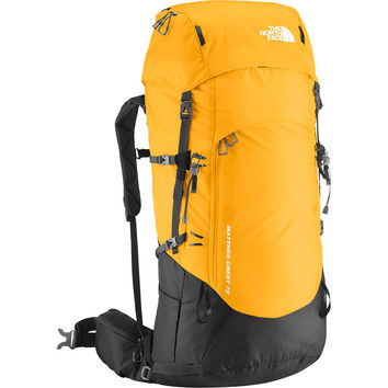 The North Face Matthes Crest 72 Backpack - 4393cu in Summit Gold/Asphalt Grey,