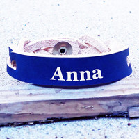 Custom Personalized Engraved Braided Leather Bracelet, Birthday, Christmas, special occasion gift