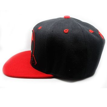 New Arrival Deadpool Cosplay Cap Marvel Comics Hero ladies dress Hat charm Costume Props Baseball cap canvas snapback caps