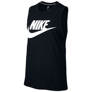 Nike Essential Muscle Tank - Women's at Lady Foot Locker