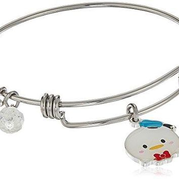 Disney Stainless Steel Adjustable Bangle Bracelet