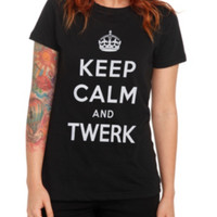 Keep Calm And Twerk Girls T-Shirt