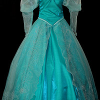 New Little Mermaid Aqua Custom Costume