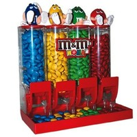 M&M'S World Colorworks Candy Dispenser:Amazon:Everything Else