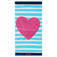 Big Heart Beach Towel