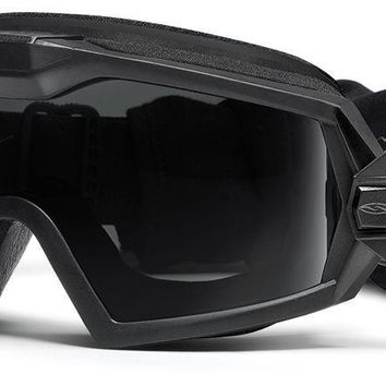 Smith - Outside The Wire Turbo Fan Black Snow Goggles / Gray Lenses