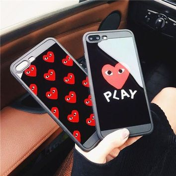 Iphone 6/6s Stylish Cute Hot Deal On Sale Apple Korean Iphone Soft Couple Phone Case [103810203660]