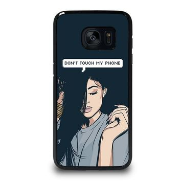 KYLIE JENNER DONT TOUCH MY PHONE Samsung Galaxy S7 Edge Case Cover