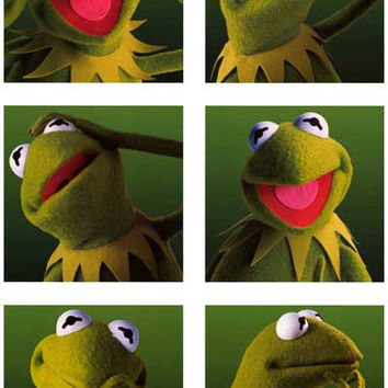The Muppets Kermit the Frog Poster 11x17