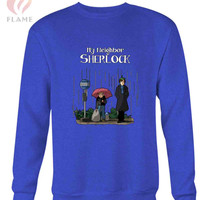 My Neighbor Sherlock Long Sweater