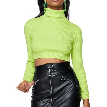 Biker Babe Faux Leather Mini Skirt