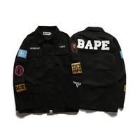 BAPE Ape head 1993 multi-sleeved lapel jacket M--2XL