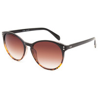 Full Tilt Alma Mater Sunglasses Black One Size For Women 25586610001