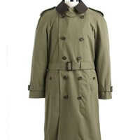 Hart Schaffner Marx Cotton Trench Coat