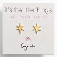 Dogeared 'It's the Little Things' Star Stud Earrings