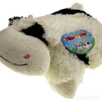 """Pillow Pets Pee Wees Cozy Cow Seen On TV 2011 11"""" Stuffed Animal Plush Soft Toy"""