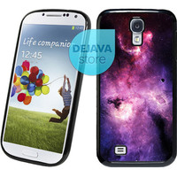 Universe Purple Star Samsung Galaxy S4 Case