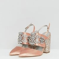 ASOS PERFECT COMBO Embellished Heels at asos.com