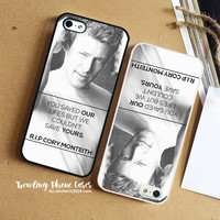 Cory Monteith Glee 2 iPhone Case Cover for iPhone 6 6 Plus 5s 5 5c 4s 4 Case