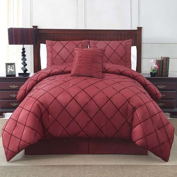 Victoria Classics Santiago 4-pc. Comforter Set (Red)