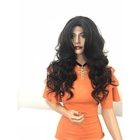 Brown 360' lace front wig - Merci