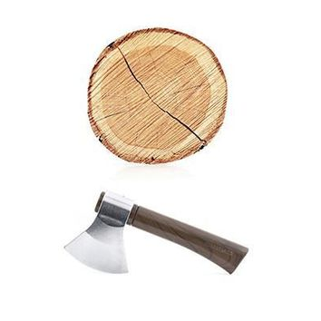 Axe Pen And Tree Notepad