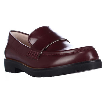 kate Spade Karry Casual Loafers, Wine, 9 US