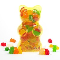 Dylan's Candy Bar Filled Gummy Bear Container - Yellow in  Bulk Candy at Dylan's Candy Bar